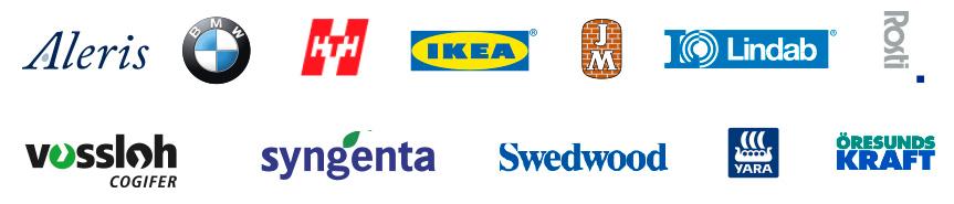 Internova - kunder