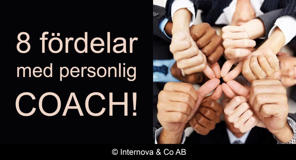 8 fördelar med en personlig coach - internova