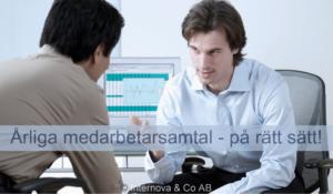 Årliga medarbetarsamtal - på rätt sätt