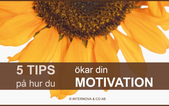 Bloggbild - hur du ökar din motivation