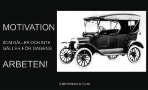 Motivation som gäller för dagens arbeten! - Internova
