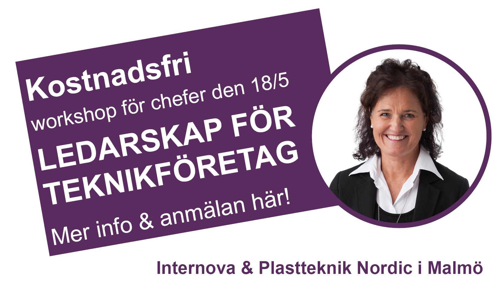Workshop LEDARSKAP FÖR TEKNIKFÖRETAG