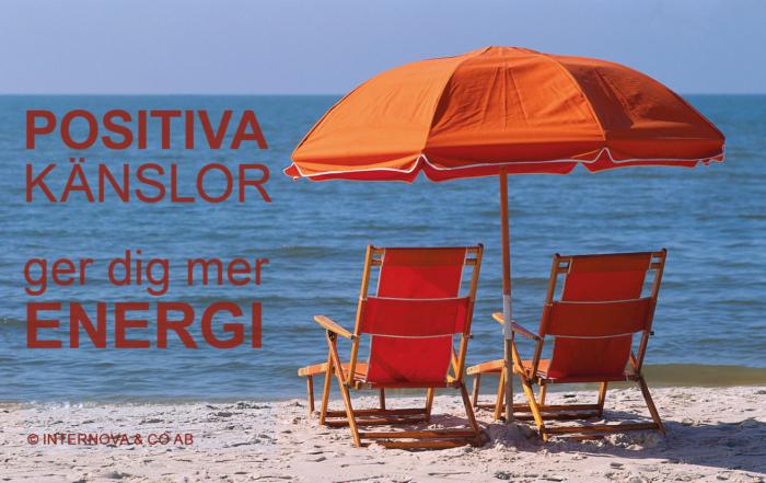 Bloggbild - Positiva Känslor ger dig mer ENERGI
