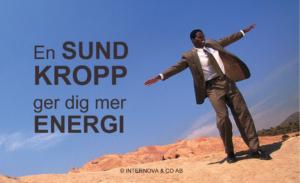 Öka din energi med en sund kropp