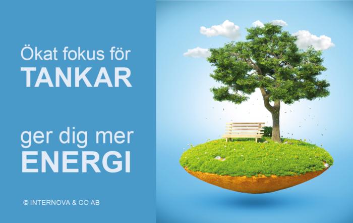 Bloggbild - Ökat fokus för TANKAR ger dig mer ENERGI