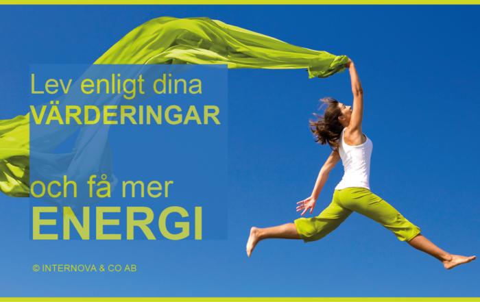 Bloggbild - Lev enligt dina VÄRDERINGAR och få mer ENERGI