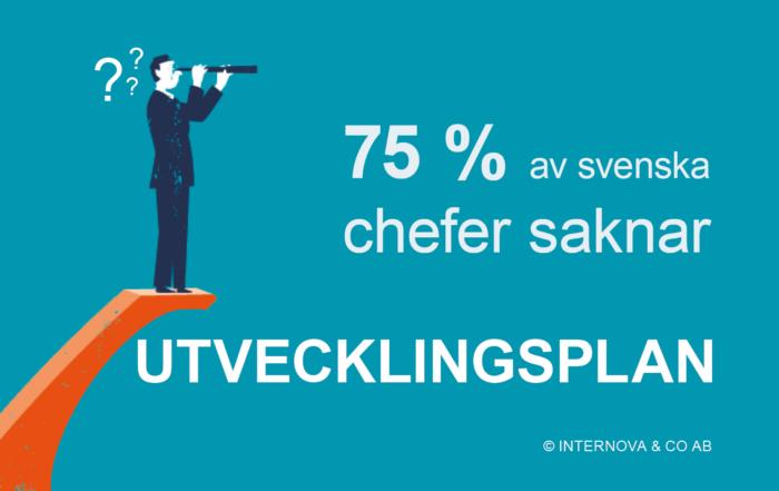 Bloggbild - 75 % av svenska chefer saknar utvecklingsplan