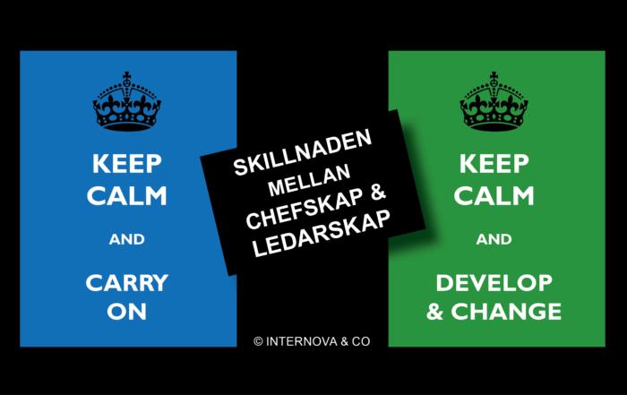Skillnaden mellan chefskap och ledarskap - bloggbild