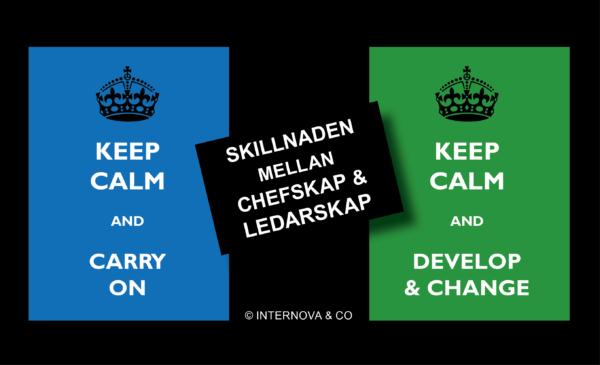 Skillnaden mellan chefskap och ledarskap