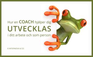 En Hur en coach hjälper dig utvecklas