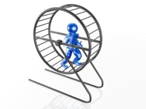 en coach hjälper dig komma ur ekorrhjulet