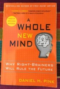 Fem boktips för nya tankar - A whole new mind